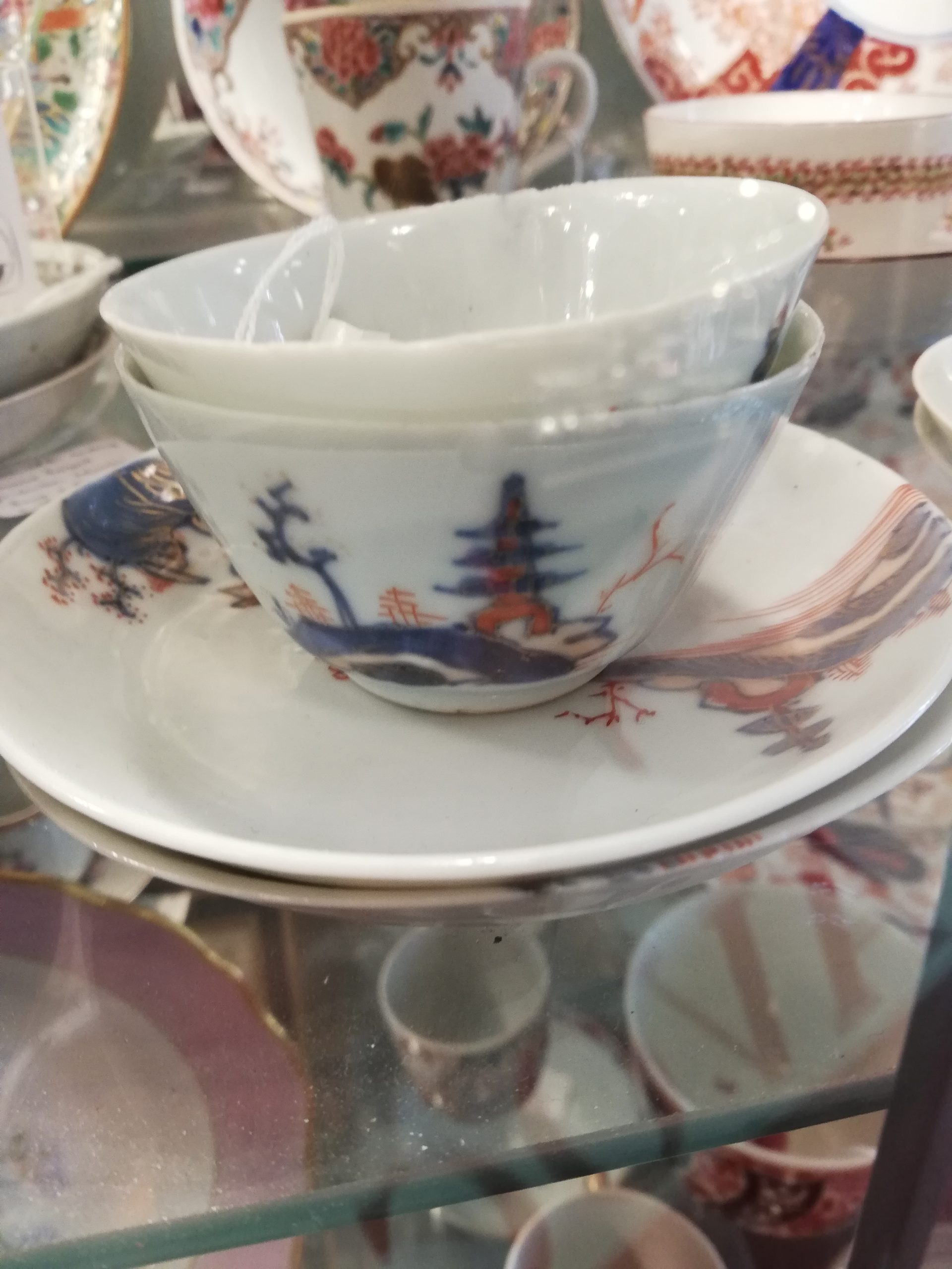 Coffee Cups from the 1700s have no handle